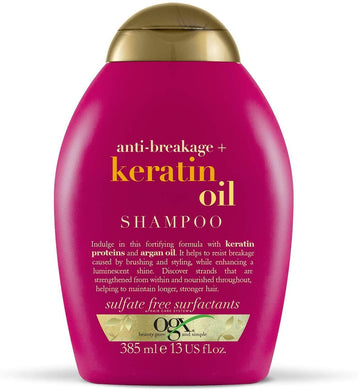 OGX Anti-Breakage Keratin Oil Shampoo 385 ml - Mrayti Store