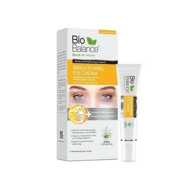 Bio Balance Eye Brightening Organic Cream 15 ml - Mrayti Store