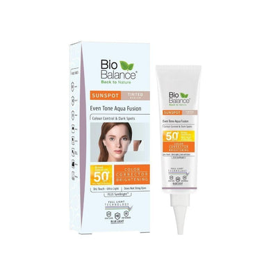 Bio Balance SUNSPOT Normal & Spotted Skin Sunblock (TINTED SPF50+) - Mrayti Store