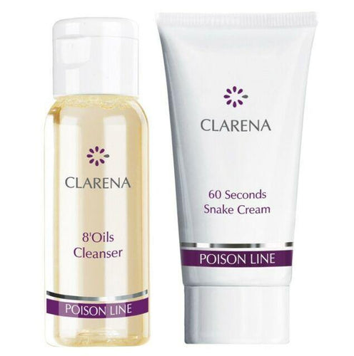 clarena cream and cleanser set