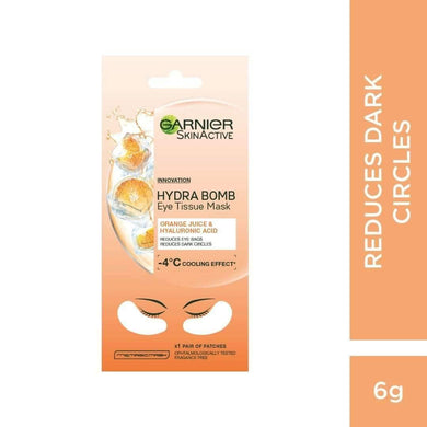 Garnier Moisture Bomb Eye Tissue Mask Orange - Mrayti Store