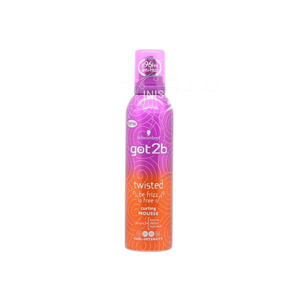 Schwarzkopf Got2b Twisted Curling Mousse 250ml - Mrayti Store