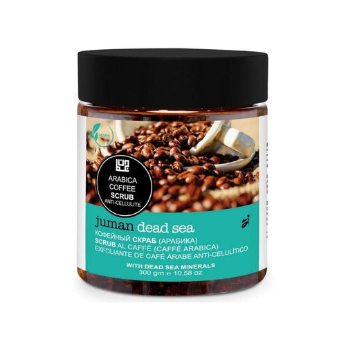 Juman Arabica Coffee Scrub With Dead Sea Minerals