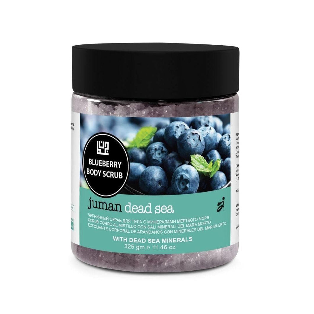 Juman Blueberry Body Scrub With Dead Sea Minerals