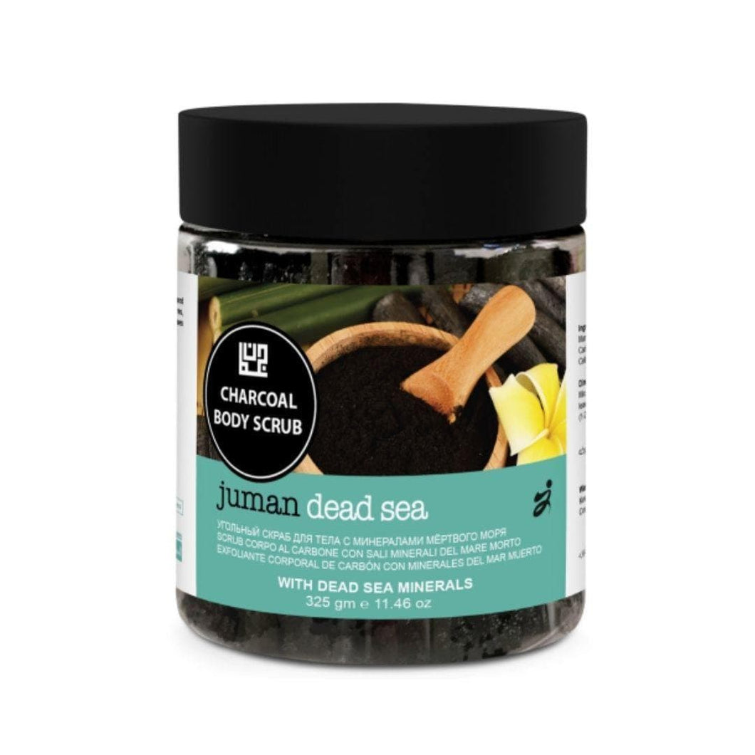 Juman Charcoal Body Scrub With Essential Oils
