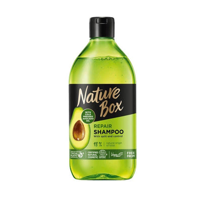 Nature Box Repair Shampoo 385 ml - Mrayti Store