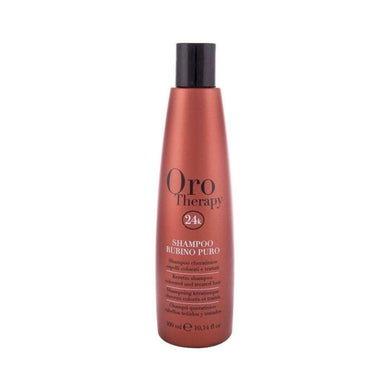 Oro Colored Hair Care Shampoo Rubino Puro 300 ml - Mrayti Store