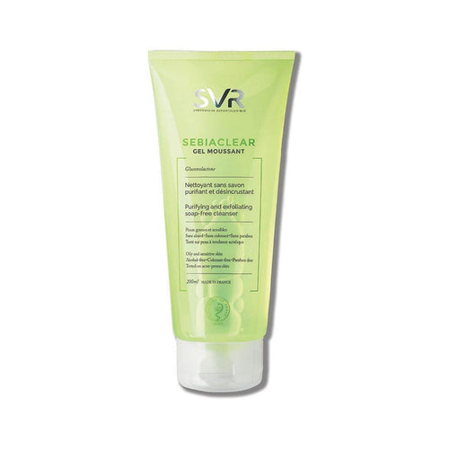 SVR Cleanser Sebia Clear Gel Moussant Skin Care