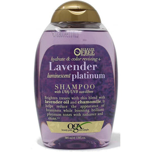 OGX Hydrate & Enhance Lavender Luminescent Platinum Shampoo 385 ml - Mrayti Store