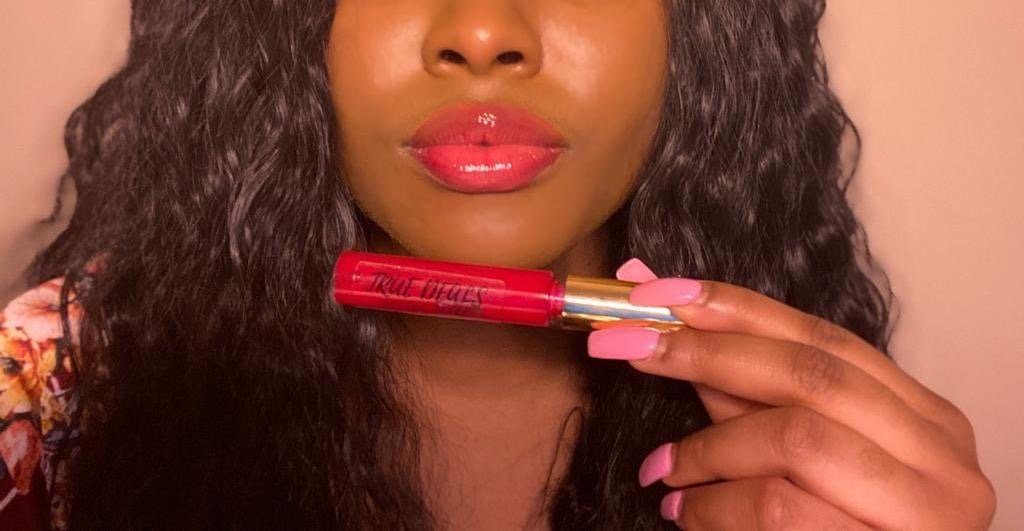 Soft Red Lipgloss