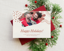 Load image into Gallery viewer, Abstract Printed Holiday Cards