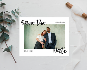 Chloe Printed or Magnet Save the Date