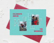 Load image into Gallery viewer, Merry Printed Holiday Cards