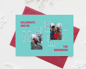 Merry Printed Holiday Cards