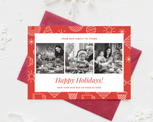 Load image into Gallery viewer, Holiday Ornament Printed Holiday Cards
