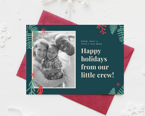 Spruce Printed Holiday Cards
