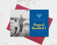 Load image into Gallery viewer, Happy Hanukkah Printed Holiday Cards