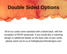 Load image into Gallery viewer, Fork & Spoon Printed Rehearsal Dinner Invitations
