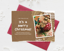 Load image into Gallery viewer, Pet Printed Holiday Cards