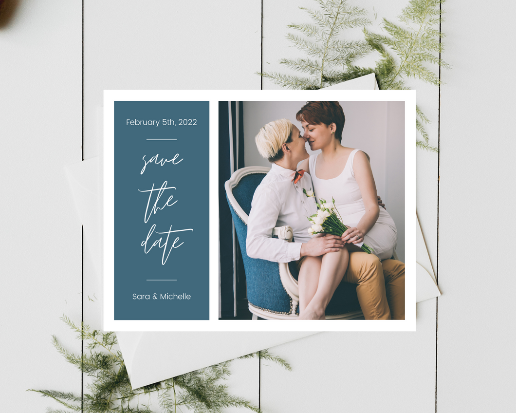 Michelle Printed or Magnet Save the Date