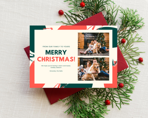 Warm & Toasty Printed Holiday Cards