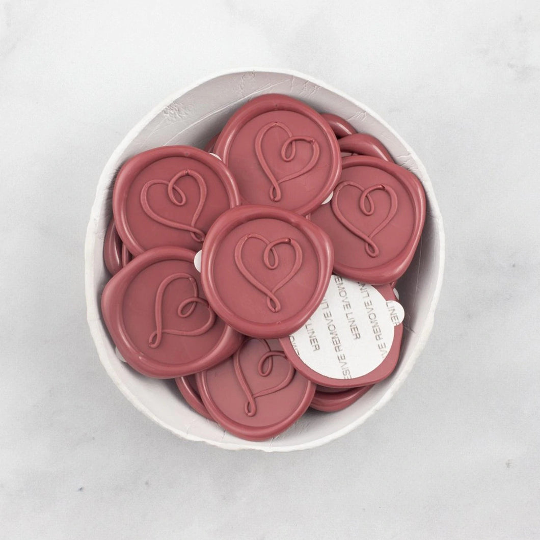 Love Eternal Wax Seals designed by Smudge Design Co. - 25 Pack