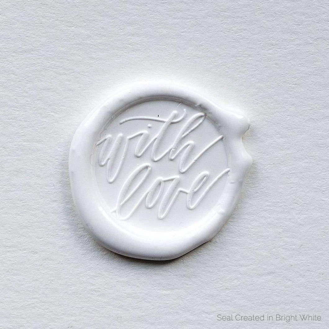 With Love Wax Seals designed by Saffron Avenue - 25 Pack