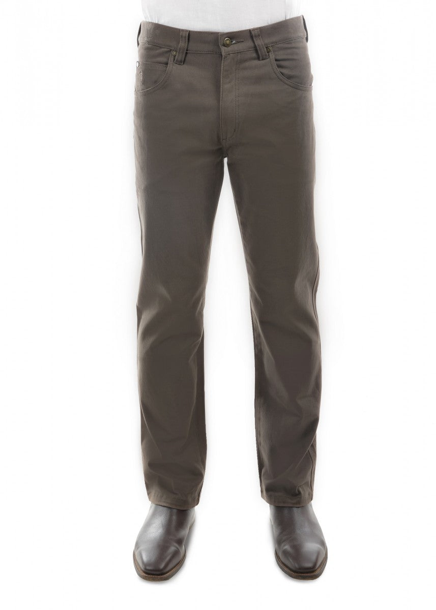 TCP1239007 MOLESKIN JEAN REGULAR FIT GREYSTONE