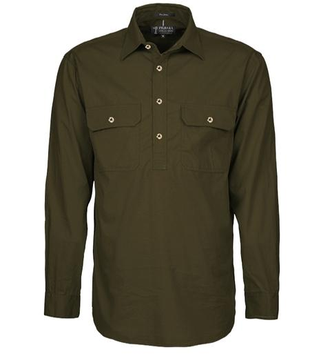 1/2 BUTTON WORK SHIRT