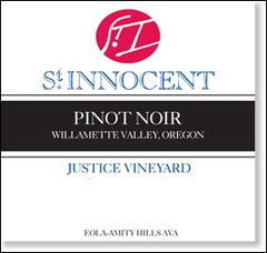 St. Innocent 'Justice Vineyard' Willamette Pinot Noir 2014