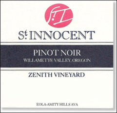 St. Innocent 'Zenith Vineyard' Willamette Pinot Noir 2016