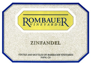 Rombauer Vineyards Zinfandel 2018
