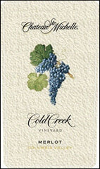 Chateau Ste Michelle 'Cold Creek' Merlot 2014