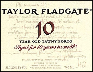 Taylor Fladgate '10 Year Old Tawny' NV