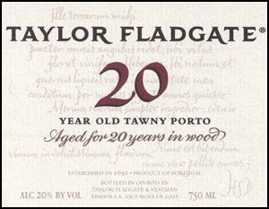 Taylor Fladgate '20 Year Old Tawny' NV