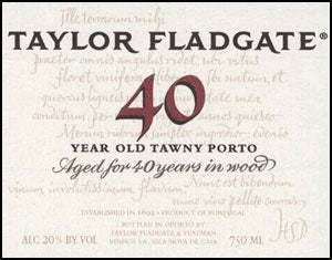 Taylor Fladgate '40 Year Old Tawny' NV