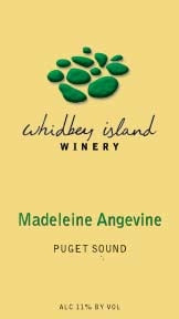 Whidbey Island Winery Madeleine Agevine 2018