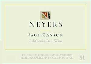 Neyers Vineyards Sage Canyon 2018