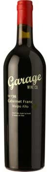Garage Wine Co. Cabernet Franc 2014