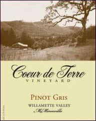 Coeur de Terre 'Willamette Valley' Pinot Gris 2019