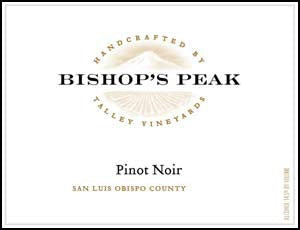 Bishop's Peak Pinot Noir 2018