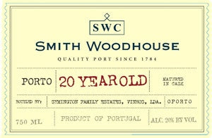 Smith Woodhouse '20 Year Old' Tawny Port NV