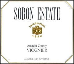 Sobon Estate Viognier 2018
