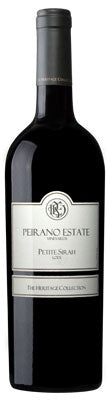 Peirano Estate Vineyards Petite Sirah 2018