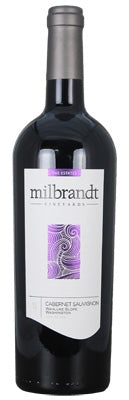 "Milbrandt ""The Estates"" Wahluke Slope Cabernet Sauvignon 2017"
