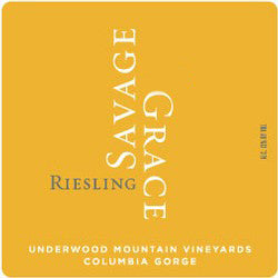 Savage Grace Underwood Mountain Riesling 2018