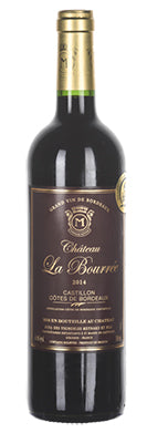 Bourree Cotes de Castillon Bordeaux Rouge 2017