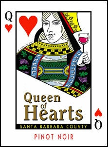 Queen of Hearts Pinot Noir 2018