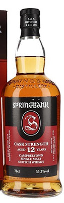 Springbank 12yr Cask Strength Scotch