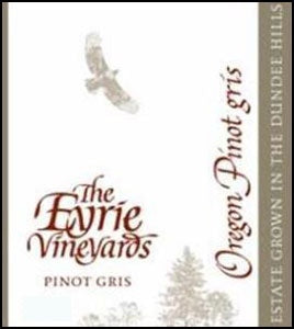 Eyrie Vineyards 'Willamette Valley' Pinot Gris 2018